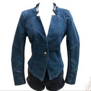 Denim fitted jacket by Actaris